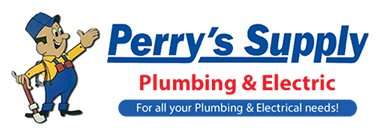Perry's Supply – Plumbing and Electrical, North Bend Oregon Retina Logo